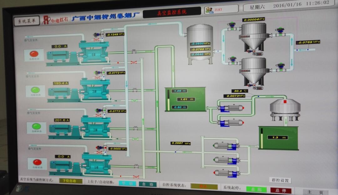 广西中烟某卷烟厂污水处理电气自控