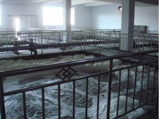 新疆某啤酒厂废水处理工程