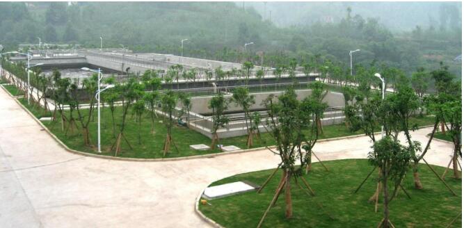 重庆某工业园区污水处理工程